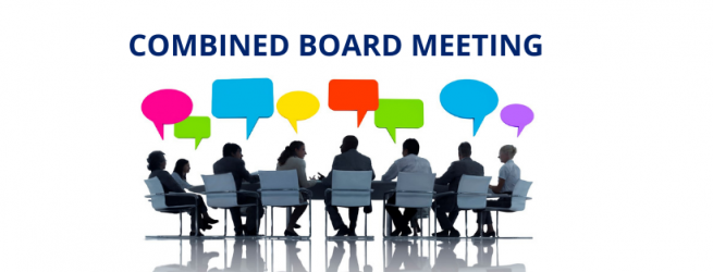 Combined board meeting